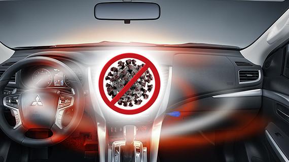 Как выполнить дезинфекцию салона автомобиля?